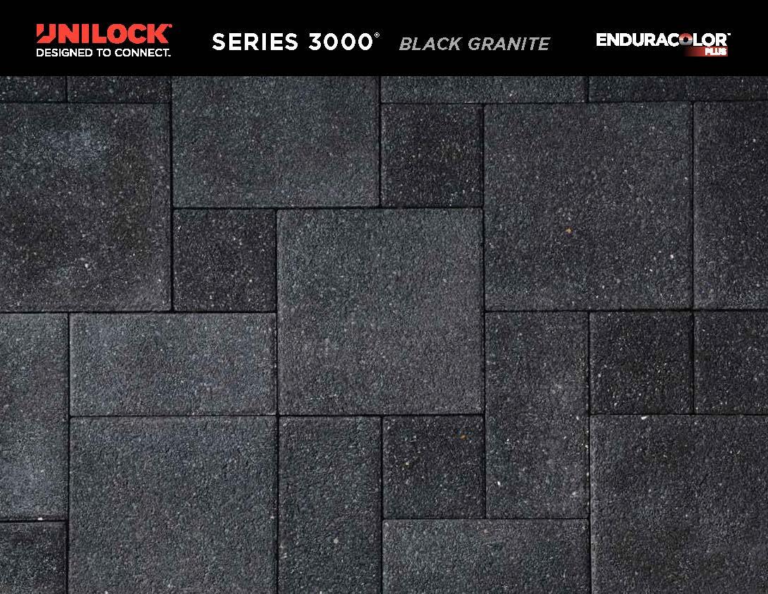 Series 3000 Black Granite